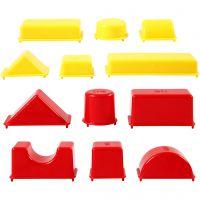 Vormpjes, geometrie, afm 3,5-9,5 cm, 12 stuk/ 1 doos