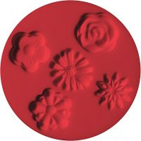 FIMO® vormen, bloemen, d: 7 cm, 1 stuk