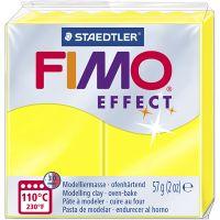 FIMO® Effect, neon geel, 57 gr/ 1 doos