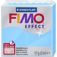 FIMO® Effect, neon blauw, 57 gr/ 1 doos
