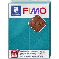 FIMO® Leather Effect , lagoon (369), 57 gr/ 1 doos