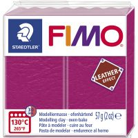 FIMO® Leather Effect , berry (229), 57 gr/ 1 doos