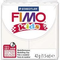 FIMO® Kids boetseerklei, wit, 42 gr/ 1 doos