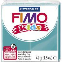 FIMO® Kids boetseerklei, turquoise, 42 gr/ 1 doos