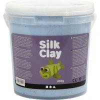 Silk Clay®, neon blauw, 650 gr/ 1 emmer