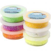 Foam Clay®, voorjaarskleuren, 6x14 gr/ 1 doos