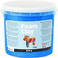 Foam Clay®, metallic, blauw, 560 gr/ 1 emmer