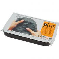 Zelfhardende Klei, zwart, 12x1000 gr/ 1 doos