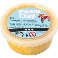 Foam Clay®, geel, 35 gr/ 1 Doosje