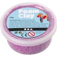 Foam Clay®, neon paars, 35 gr/ 1 Doosje