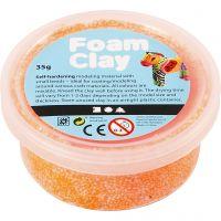 Foam Clay®, neon oranje, 35 gr/ 1 Doosje