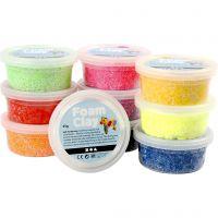 Foam Clay®, diverse kleuren, 10x35 gr/ 1 doos