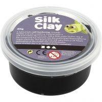 Silk Clay®, zwart, 40 gr/ 1 Doosje