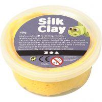 Silk Clay®, geel, 40 gr/ 1 Doosje