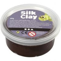 Silk Clay®, bruin, 40 gr/ 1 Doosje
