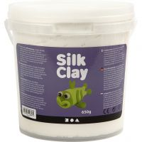 Silk Clay®, wit, 650 gr/ 1 emmer