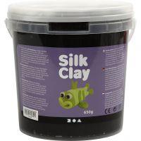 Silk Clay®, zwart, 650 gr/ 1 emmer