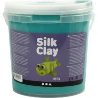 Silk Clay®, groen, 650 gr/ 1 emmer