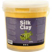 Silk Clay®, geel, 650 gr/ 1 emmer