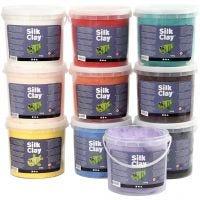 Silk Clay®, diverse kleuren, 10x650 gr/ 1 doos