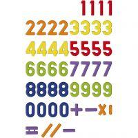 Magnetische cijfers, 48 stuk/ 1 doos