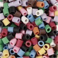 Nabbi Bio Beads, afm 5x5 mm, medium, diverse kleuren, 3000 stuk/ 1 doos