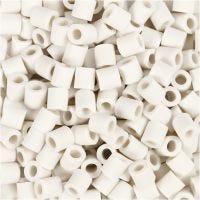 Nabbi Bio Beads, afm 5x5 mm, medium, wit, 3000 stuk/ 1 doos