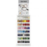 Rocailles, diverse kleuren, 280 doos/ 1 doos