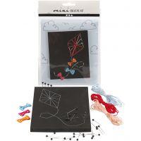 Mini Creatieve Set, vlieger, 1 set