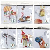 Creative mini kits, 6 set/ 1 doos