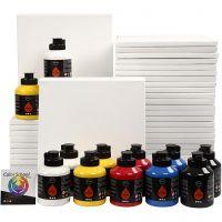 Art School, primair kleuren, 1 set