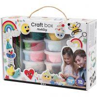 Foam Clay® en Silk Clay® Set , diverse kleuren, 1 set