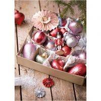 Inspiratieposter, Magische kerst, 4 stuk/ 1 doos