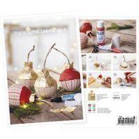 Inspiratiekaart, Sprankelende kerstballen, A5, 14,8x21 cm, 1 stuk