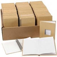 Notitieboek, A6, afm 10,5x15 cm, 3x32 stuk/ 1 doos