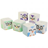 Adorable salt & pepper sets decorated with owls