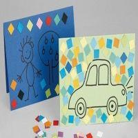 Karton mozaiek