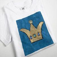 T-shirt met prinsessen kroon