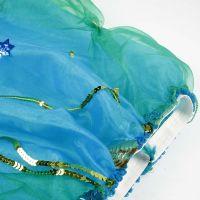 Prinsessen rok van tule en organza