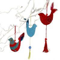 A Sixties Bird Hanging Decoration