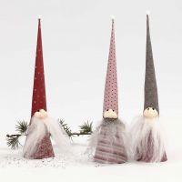 Kegelkabouters van Vivi Gade Design papier en Silk Clay