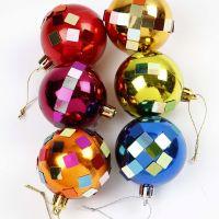 Gedecoreerde kerstballen