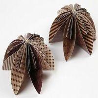Bloem van origami papier
