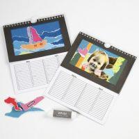 Kalenders met collage
