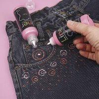 3D Liner op Jeans