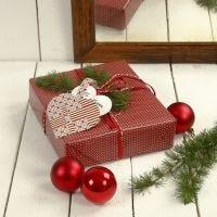 Cadeau met gewoven hart