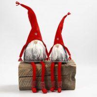 kabouters van vilt met lange benen