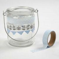 Lantarens met masking tape