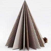 Een gevouwen kerstboom van Vivi Gade Design papier