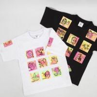 Een kunstig T-shirt gemaakt met transferpapier